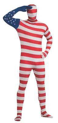 Rubies 2. Skin U.S Flag America Vereinigte Staaten Erwachsene (2 Staaten Kostüme)