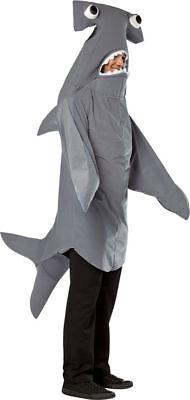 Morris Costumes Adult Unisex Hammerhead Animals Shark Costume One Size. GC6495
