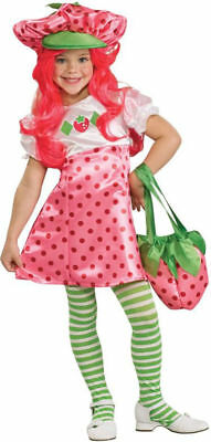 Morris Costumes Girls New Strawberry Shortcake Duluxe Costume 4-6. RU883489SM - Strawberry Shortcake Girls Costume