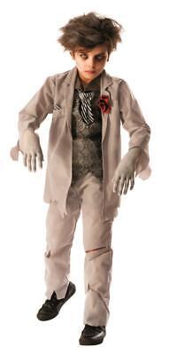 Boys Ghost Costumes (Rubies Ghost Zombie Groom Boys Costume Large)