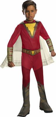 Rubies DC Comics Shazam Movie Superhero Childs Kids Halloween Costume 700707 - Superhero Costumes Children