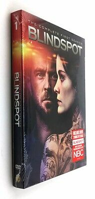 Blindspot: The Complete First Season 1 (DVD, 2016, 5-Disc Set)