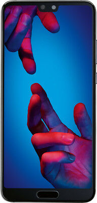 Huawei P20 DualSim schwarz 128GB LTE Android Smartphone 5,8