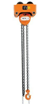 Vestil Push Chain Hoist Crane Trolley Low Headroom 2000lbs Lifting Machine Parts