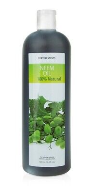 100% Natural Pure Neem Oil Hair Skin Nail Wound Treatment 16.9 oz 500 ml Ghana Neem Hair Treatment Oil