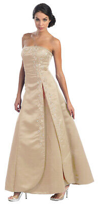 Abi-Ballkleid Abendkleid Hochzeit Brautjungfernkleid Festkleid große Größen Gr56
