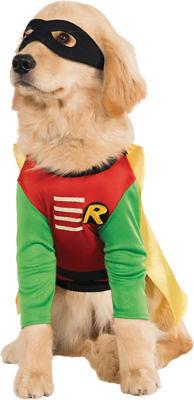 Morris Costumes Robin Shirt Style Black Mask Pet Costume Small. RU887836SM (Robin Dog Costume Small)