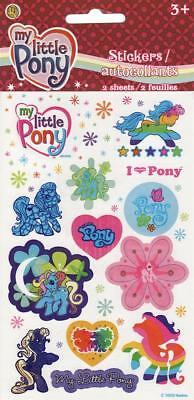 2 Sheets Stickers MY LITTLE PONY Birthday Party Supplies Favors Sandylion - My Little Pony Birthday Favors