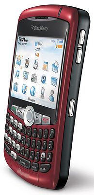 NEW RIM Blackberry 8310 Curve UNLOCKED Phone AT&T RED Smartphone on Rummage
