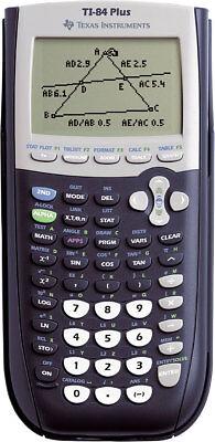 TI-84Plus Grafikrechner Texas Instruments Taschenrechner grafische Anzeige ()