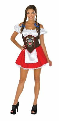 Garten Halloween-kostüm (Rubies Beer Garten Babe bar Dirndel Erwachsene Damen Halloween Kostüm 820144)