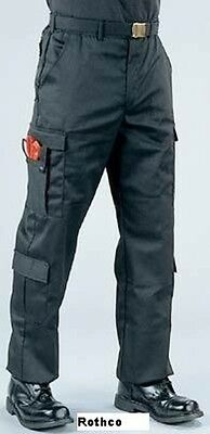 9 Pocket Emt Pant (EMT EMS 9 pocket duty pants Black Regular & Long length)