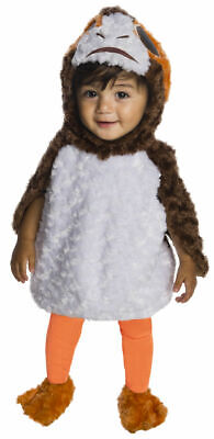 Infant Jedi Costume (Rubies Star Wars The Last Jedi Porg Cute Infant Baby Halloween Costume)