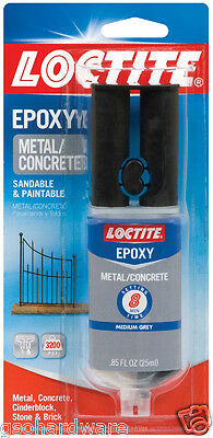 Loctite Metal And Concrete Epoxy .85 Fl. Oz. Quick Set 1919325 New