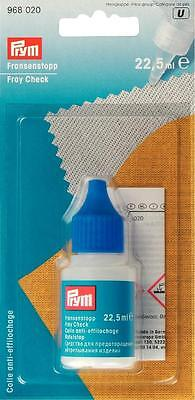 PRYM 968 020 Fray Check 22.5ml Water Resistant Textile Glue