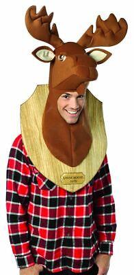 Elch Kopf Trophäe Herren-Kostüm - Elch Kopf Kostüm