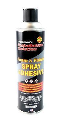 Professional Foam Fabric Upholstery Leather Aerosal Adhesive Glue Spray 12 Oz