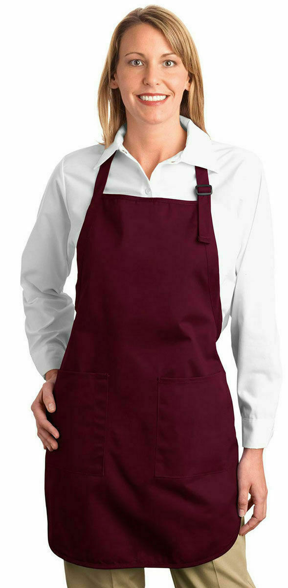 Port Authority 100% Cotton Pocket Soil Release Stain Protect