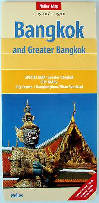 NEW 2006~MAP OF BANGKOK, Nelles~w/Detail Maps of City Center & Greater Bangkok