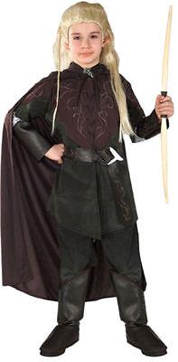 Morris Costumes Boys New Legolas Greenleaf Complete Outfit Brown 8-10. RU38932MD (Greenleaf Costumes)