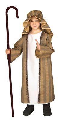 Rubies Shepherd Brown Child Boys Nativity Christmas Xmas Holiday Costume 884020