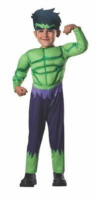Rubies Hulk The Avengers Muskel Marvel Deluxe Kleinkind - Hulk Kostüme Kleinkind