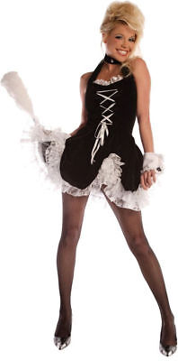 Morris Costumes Women's Classic Polyester French Maid Tease Costume S. UR28910SM (Classic French Maid Costume)