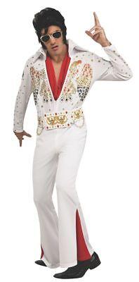 Rubies Elvis Presley Deluxe Eagle Jumpsuit Adult Mens Halloween Costume 889050 Deluxe Elvis Presley Jumpsuit