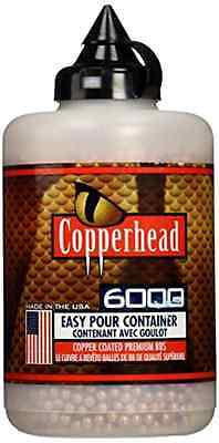 Crosman Copperhead 6000 Copper Coated Bbs  177 Cal In A Bottle Air Rifle Pistol