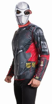 Rub - Suicide Squad Herren Kostüm Deadshot Karneval