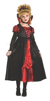Deluxe Kids Transylvanian Vampiress Costume, Rubies 883919