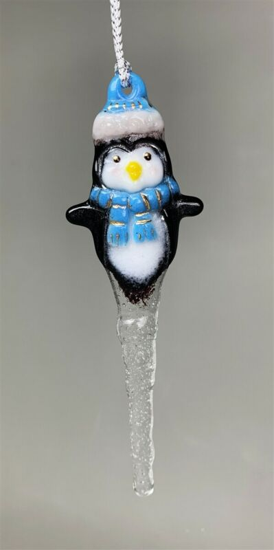 Penguin Icicle Little Fritters 190 Glass Casting Mold Creative Paradise Fusing