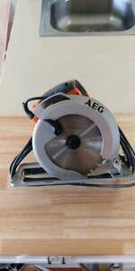 "AEG ""KS 66-1"" 1350W 190MM Circular Saw - As new condition"