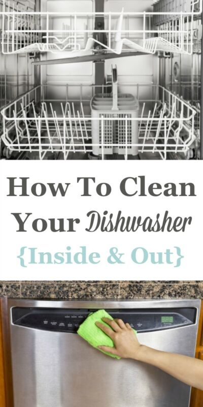 how to clean your dishwasher inside out ebay. Black Bedroom Furniture Sets. Home Design Ideas