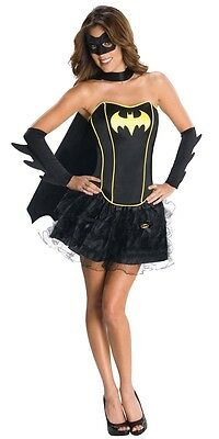 BatGirl Fancy Dress Costume - One Size (AU 8 - 12)