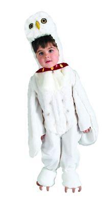 Harry Potter Hedwig Owl Costume, Plush White Faux Fur Jumpsuit/Headpiece 884257
