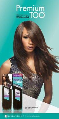 PREMIUM TOO YAKI PRO 100% HUMAN HAIR & PREMIUM BLEND HAIR