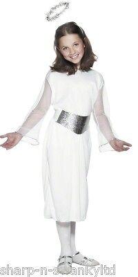 Mädchen Engel Gabriel Weihnachten Fee Geburt Kostüm Kleid Outfit