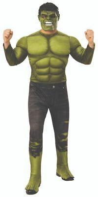 Rubies Marvel Avengers 4 Endgame Hulk Deluxe Adult Mens Halloween Costume 700735](Hulk Adult Costume)