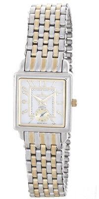 Croton Women's Two-Tone White Dial Watch (Croton Womens White Dial)