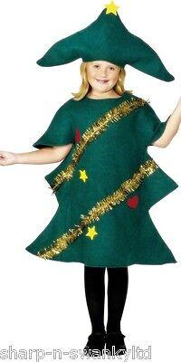 Jungen Mädchen Kinder Weihnachtsbaum Festlich Kostüm Kleid Outfit - Weihnachtsbaum Outfit