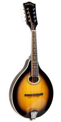 GOLD TONE GM-50+ A-style acoustic electric Mandolin NEW w/ Gig Bag