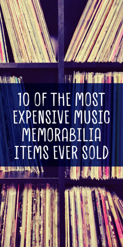10 of the most expensive music memorabilia items ever sold. Black Bedroom Furniture Sets. Home Design Ideas