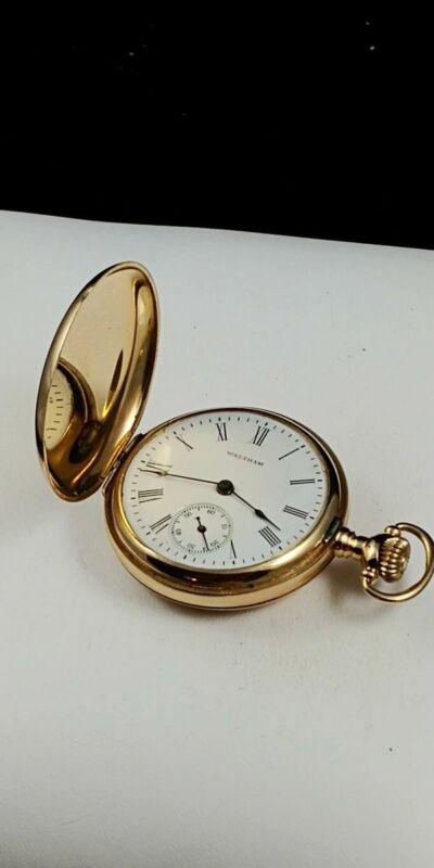 Waltham 14K Gold Pocket Watch ** 15-477