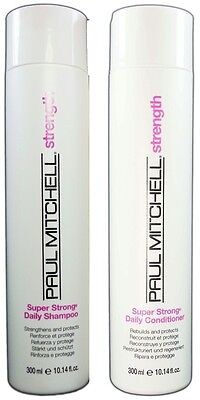 Paul Mitchell - Super Strong Shampoo and Conditioner 10oz Duo