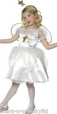 Mädchen Star Fee Engel Gabriel Weihnachten Krippe Verkleidung Kostüm Outfit