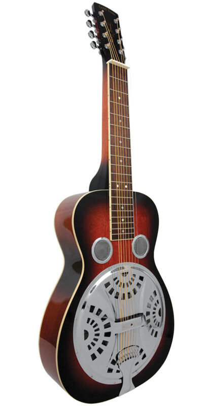 Paul Beard Signature-Series 8-String Squareneck Resonator Guitar w/ Hard Case
