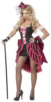 Women Can Can Costume Adult Parisian Showgirl Dancer Saloon Girl Halloween - Parisian Showgirl Halloween Costume