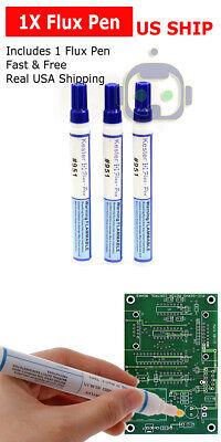 951 Soldering Flux Pen Low Solids No Clean 10ml For Pcb Solar Cells Us