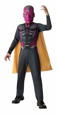 Avengers 2 Age of Ultron Deluxe Vision FULL Costume for Boys size 8-10 New